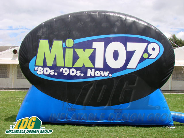 Advertising Shapes and Logos from Inflatable Design Group