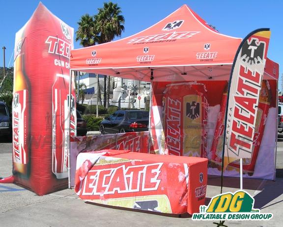 Tecate Vendor Tent & Custom Vendor Tents -