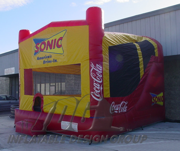 soniccombo 4in1 bounce house - Inflatable Bounce House
