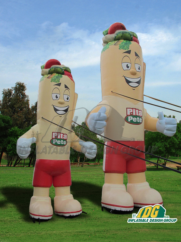 Inflatable Characters Mascots From Inflatable Design Group
