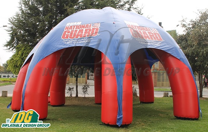 National Guard Pavilion Tent & Inflatable Tents and Pavilions from Inflatable Design Group