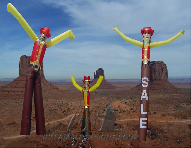 Custom Sky Dancers from Inflatable Design Group