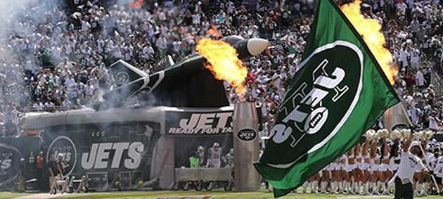 New York Jets tunnel