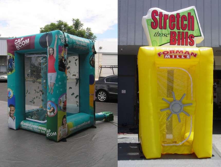 Inflatable Money Machines