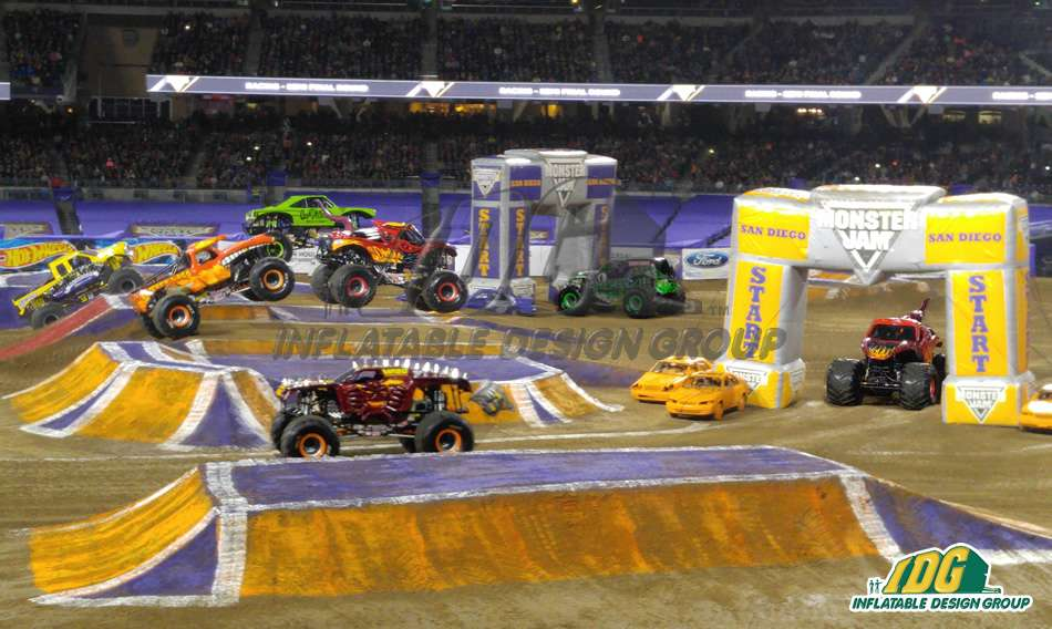 monster jam arches