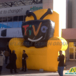 television inflatables