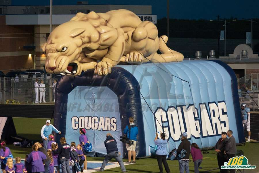 Booster Club fundraising in action with Inflatable Design Group 1
