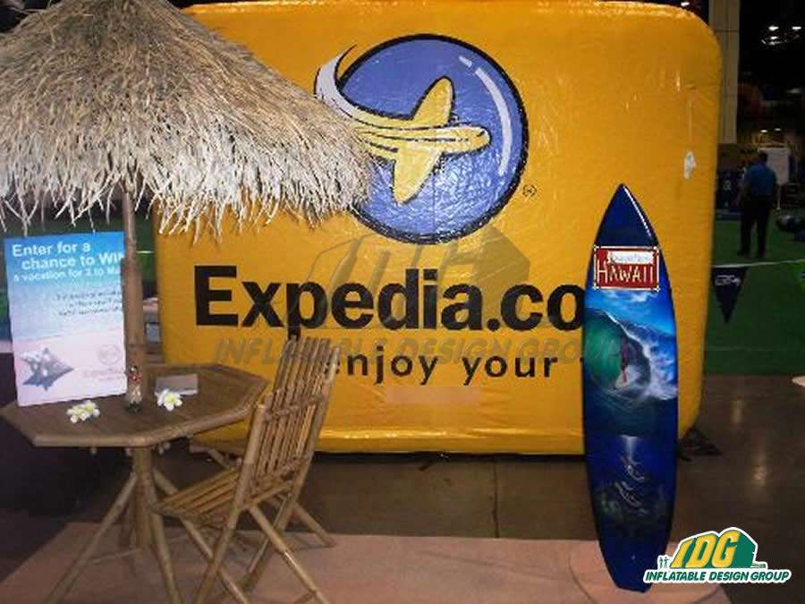 Expedia Custom Inflatable