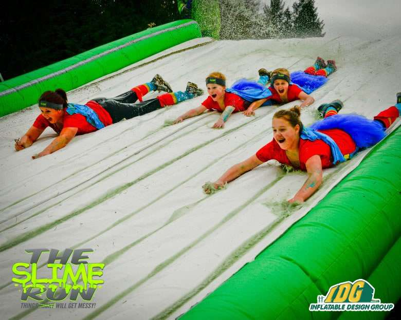 Inflatable Slip n Slide 5K