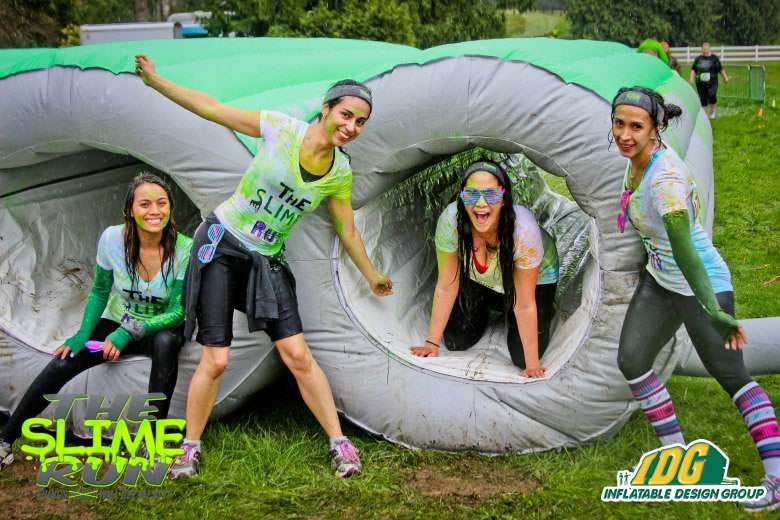 Inflatable run tunnel Cylinder 5K