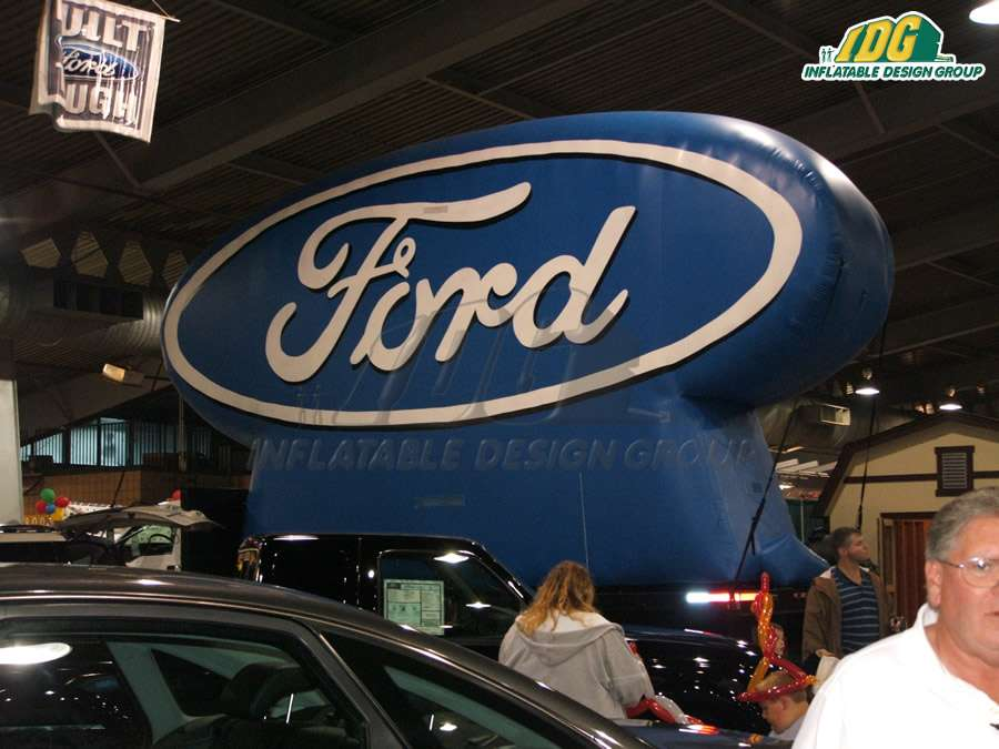 Ford Event Inflatable Logo Blocks