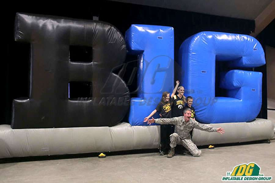 B1G Inflatable Logo Blocks