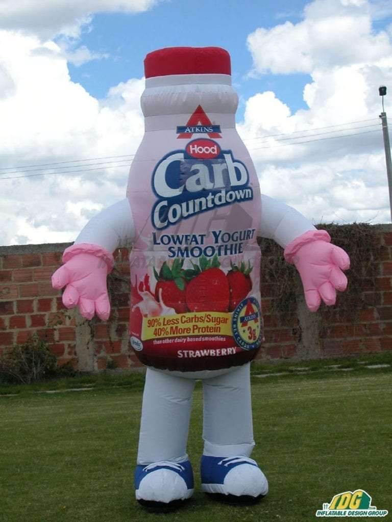 Yogurt Bottle and Can Costumes