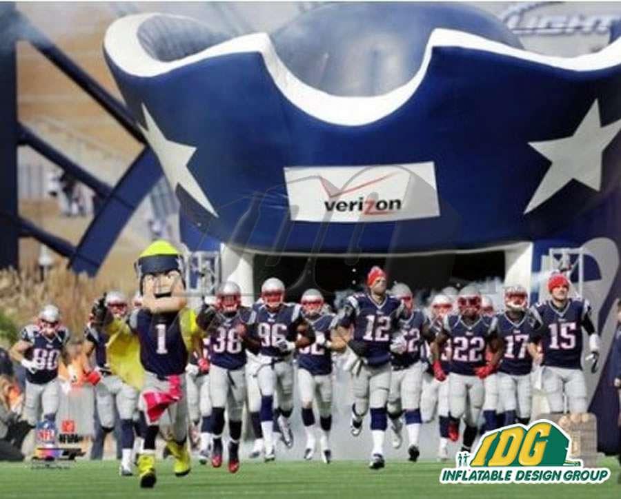Inflatable Patriots Entryway