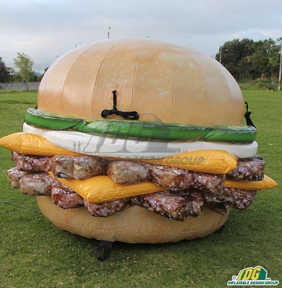 Inflatable Food Replicas