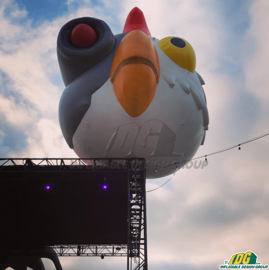 Custom Comic-Con inflatable of Robot Chicken