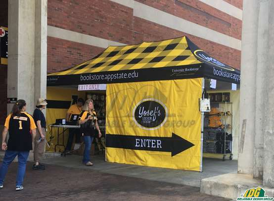 Appalachian State University Promotional Tent