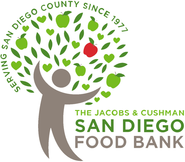 Jacobs and Cushman San Diego Food Bank Logo