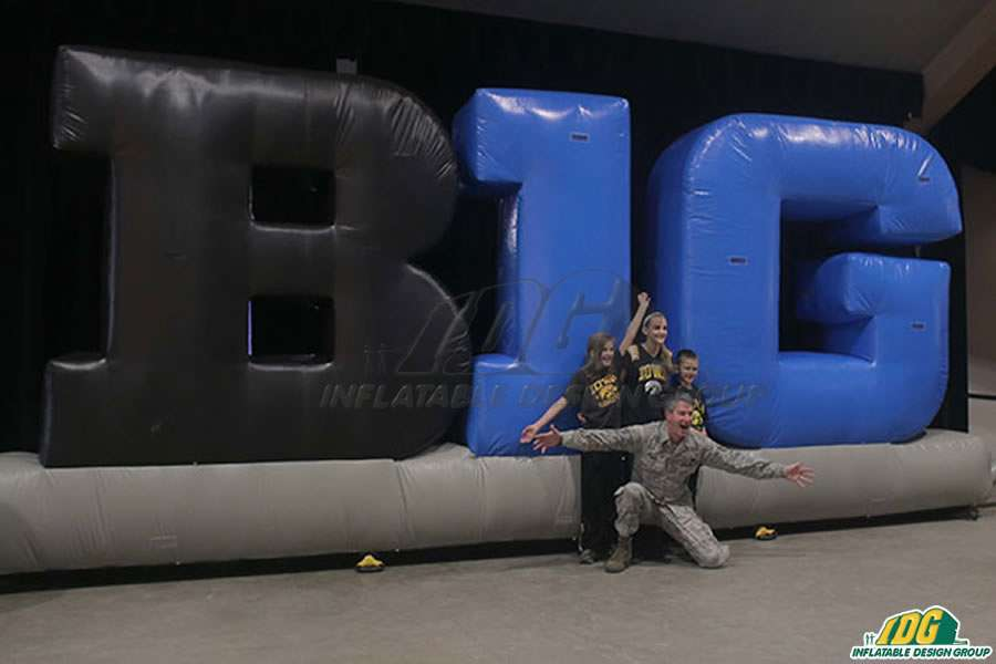 Big 12 Inflatable Letters