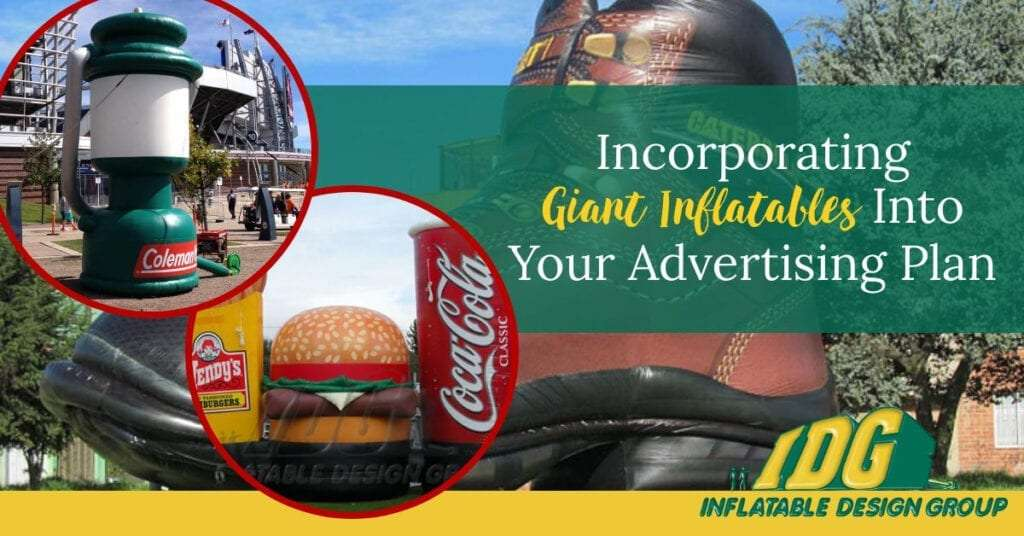 Incorporating Giant Inflatables Into Your Advertising Plan 2