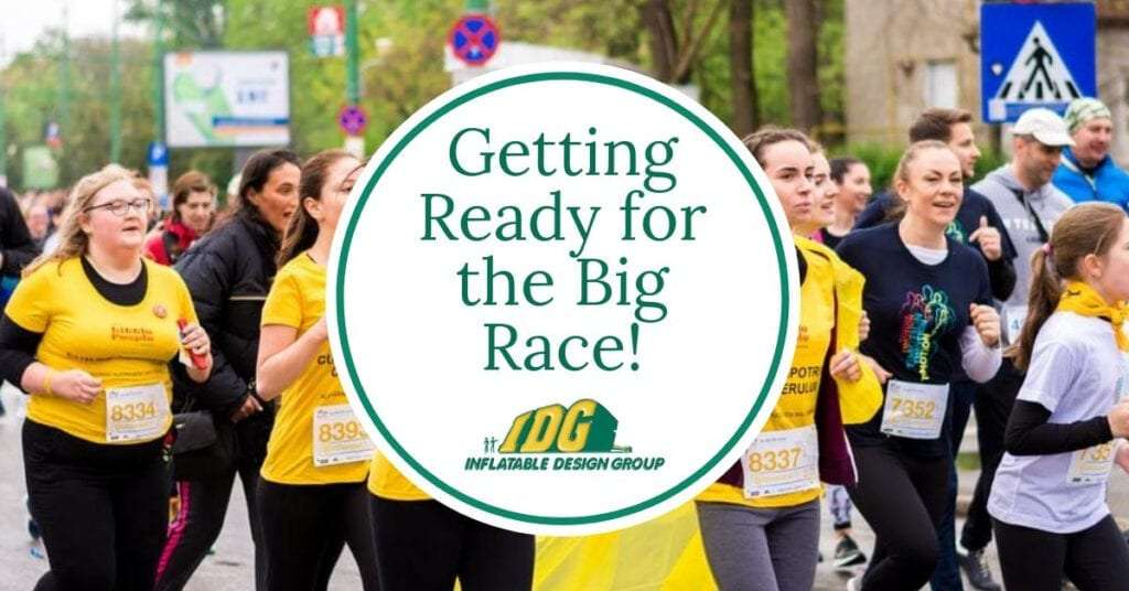 Getting Ready for the Big Race! 1