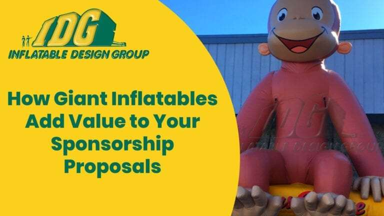 How Giant Inflatables Add Value to Your Sponsorship Proposals 1