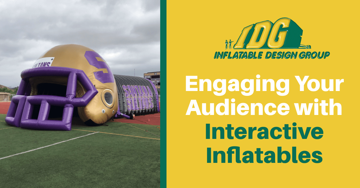 inflatable interactive